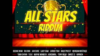 All Stars Riddim Mix (Remastered) Feat. Max Priest, Morgan Heritage, Jah Cure, (May Refix 2018)