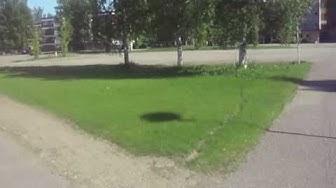 Kuvasin Pieksämäen uimahallin:)