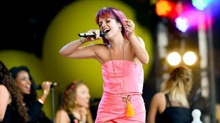 Lily Allen - As Long As I Got You at Glastonbury 2014