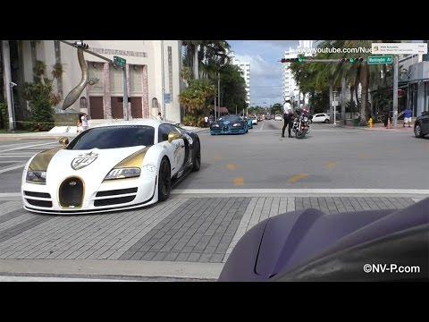 75+ Supercars & Exotics Parade Down Miami Beach! - Gold Rush Rally