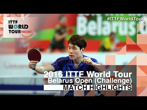 2016 Belarus Open Highlights: Jang Woojin vs Grigory Vlasov (Final)