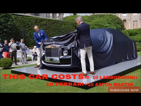 Rolls Royce Bespoke Sweptail Cost $13 MILLION (83 Crore)