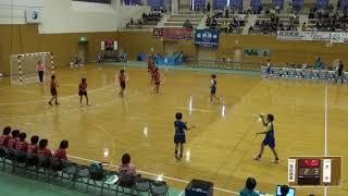 2019年IH ハンドボール 女子 1回戦 高松商(香川)VS 大分(大分)