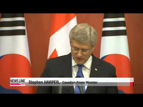 Korea, Canada Agree To Sign Free Trade Agreement