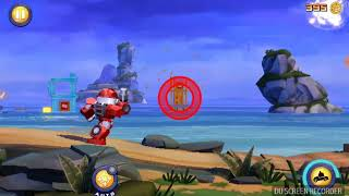 Rescue Heatwave terence - angry birds transformer