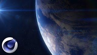 Cinema 4D – Как создать планету Земля в Cinema 4D. [Уроки 3D]