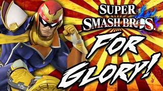 """CAPTAIN FALCON IS GIVING OUT THE ONLINE HANDS!"" - [Super Smash Bros Wii U For Glory Mode #1]"