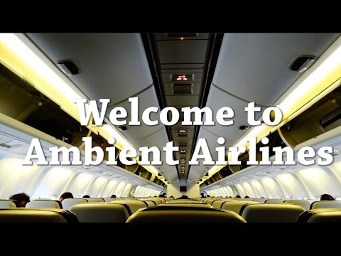 Jet Engine White Noise | Ambient Airlines Vol. 1 | Jet Sounds for Sleeping ASMR