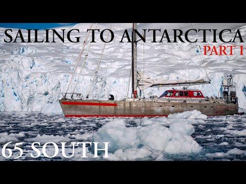 Sailing to the Antarctic Peninsula - December 2019