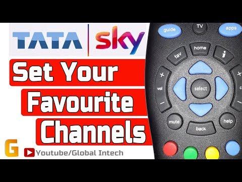 Set Your Favourite Channels | Tata Sky | Set Tata Sky  Favourite Channel List