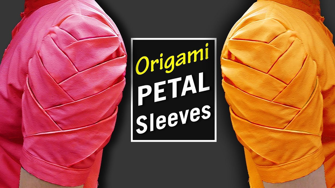 Origami petal sleeves designs for kurti latest sleeves designs origami petal sleeves designs for kurti latest sleeves designs for kameez bst jeuxipadfo Gallery