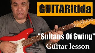 Sultans of Swing - Guitar lesson (part one) solo | StarovasTV