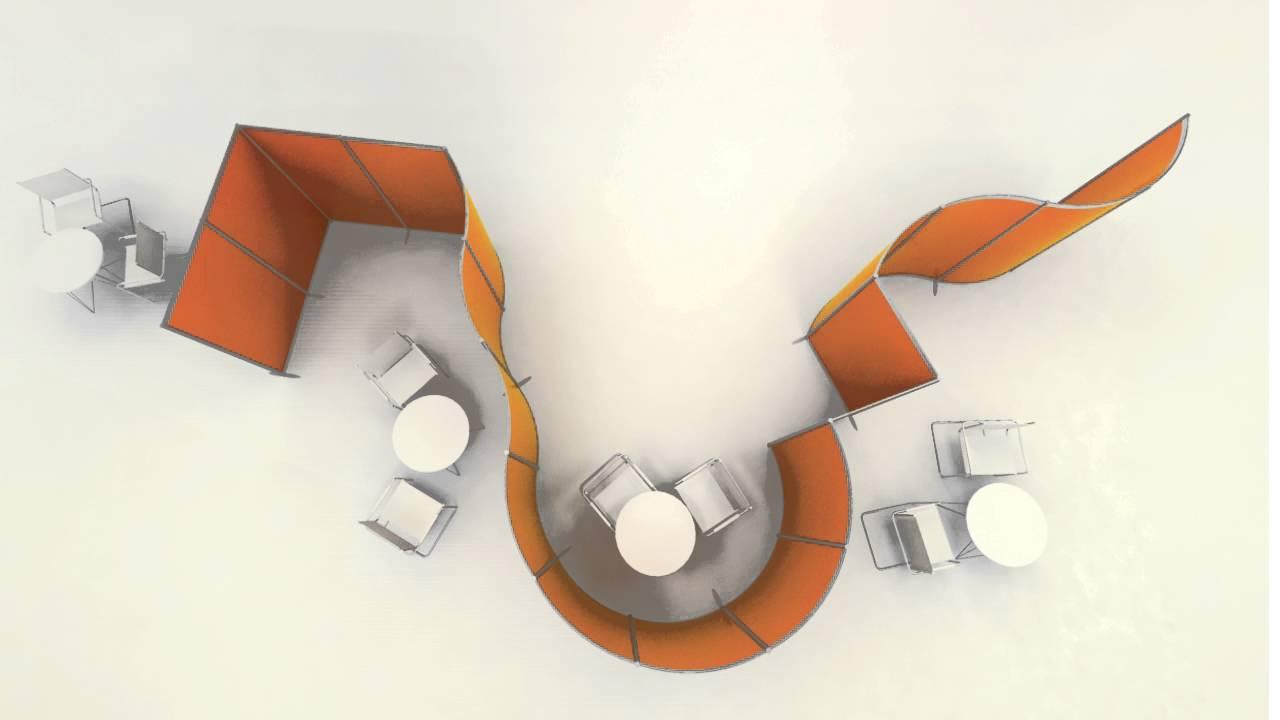 Studio T Hoto System pannelli Divisori mobili per arredare - YouTube