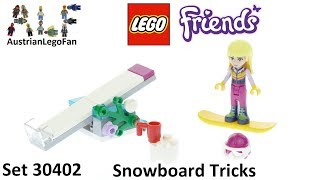 Lego Friends 30402 Snowboard Tricks - Lego Speed Build Review