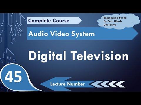 Digital Television Or DTV