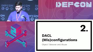 DEF CON 25 - Andy Robbins, Will Schroeder - Designing Active Directory DACL Backdoors