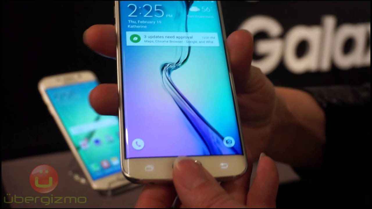 Galaxy S6 Edge Software Features (HD)
