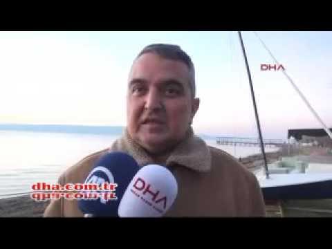 Russian War Ship open gun fire to Turkish trawler at the international waters off Limnos island,