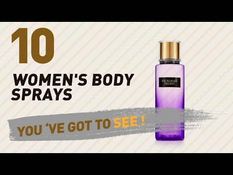 Victoria's Secret Body Sprays For Women // The Most Popular 2017