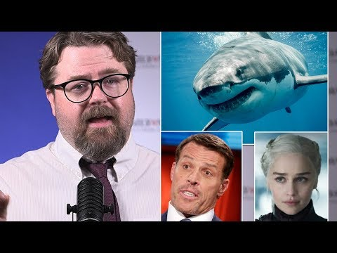 Tony Robbins accused, Great White Shark in Long Island, Emilia Clarke : Daily News Weekly