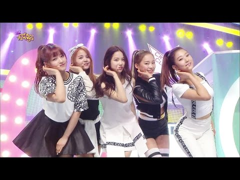 【TVPP】CLC - PEPE, 씨엘씨 - 페페 @ Hot Debut, Show Music Core Live