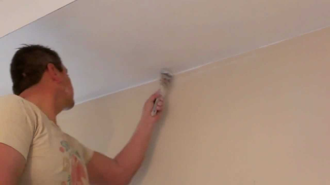 Como pintar paredes y cielorrasos  YouTube