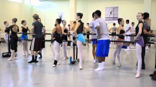 2012 Haverford School Boys Learn Ballet at The Rock School for Dance Education