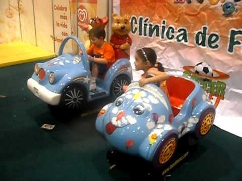 Kiddie Rider Montables Tragamonedas Juegos Para Ninos Youtube