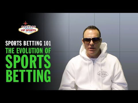 Sports Betting 101 with Steve Stevens - The Evolution of Sports Betting