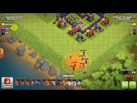 clash of clans take down that builders hut