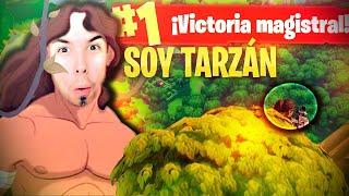 SOY TARZAN!! Fortnite: Battle Royale