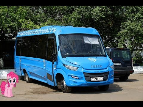 Поездка на микроавтобусе IVECO Daily (Нижегородец-VSN700) О 498 ОХ 777 Маршрут № 353 Москва