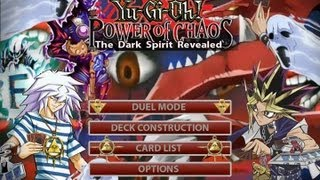 Yu-Gi-Oh! Power of Chaos - The Dark Spirit Revealed - ( Bakura VS Yugi )
