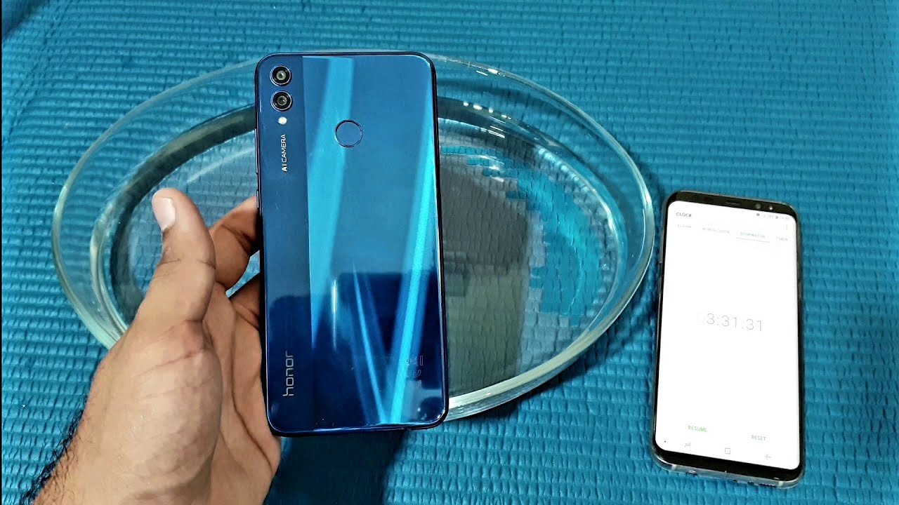 designer fashion 31df9 00559 Honor 8X Water Test! Actually Waterproof?