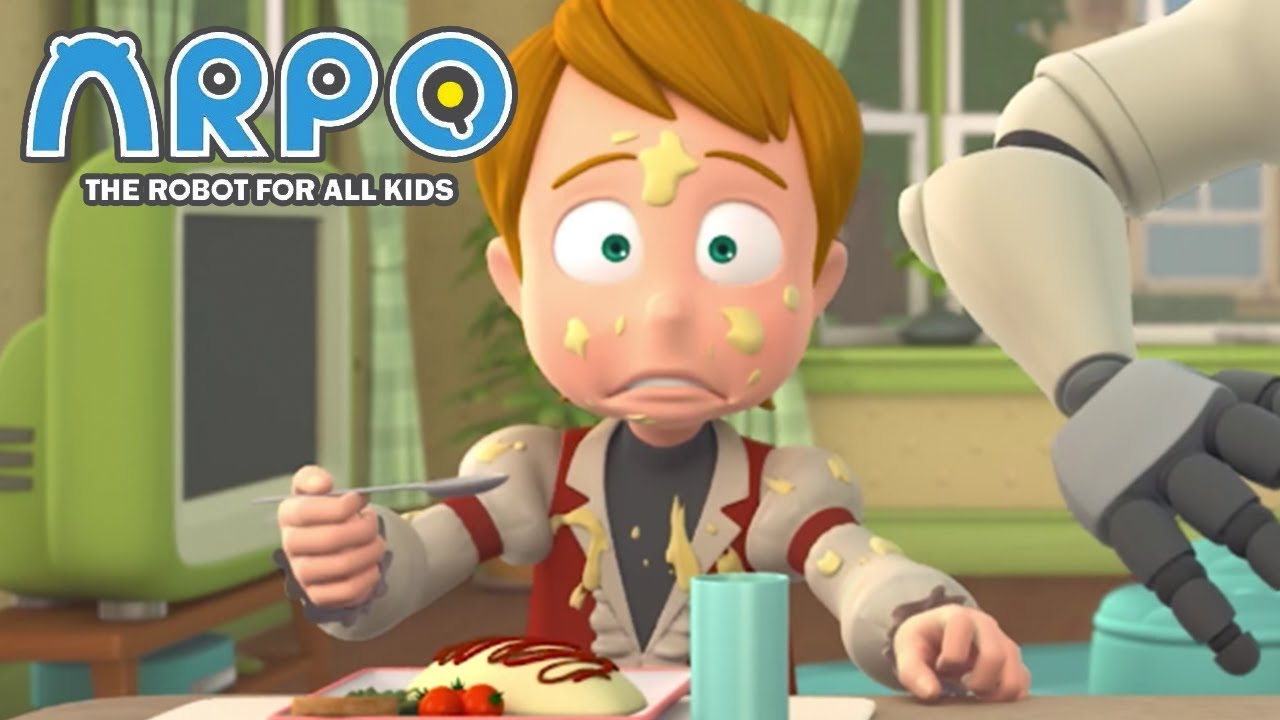 ARPO The Robot For All Kids - Puke Attack | Compilation | Cartoon for Kids