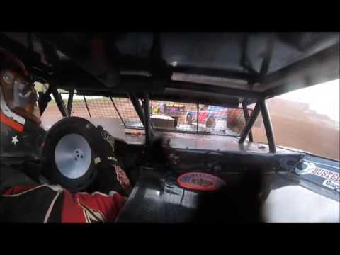 Jason Fosnaught Heat Race Lernerville Speedway 7/21/17 IN-CAR