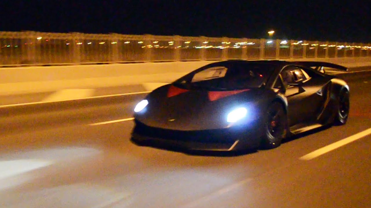 Lamborghini 3 Million >> SESTO ELEMENTO on the STREETS! (Flybys, Accelerations & Onboard footage) - YouTube