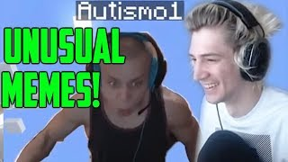 xQc Reacts to UNUSUAL MEMES COMPILATIONS with Chat!