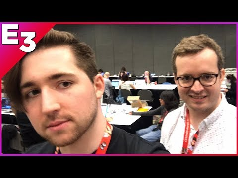 Griffin and Nick Walk Around E3 2017!