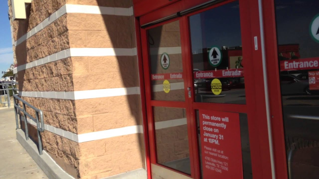 Besam automatic swing doors at target in carrollton tx