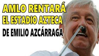 Amlo le pide Amor y Paz a Claudio X. González y lo gratifican con el Estadio Azteca