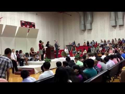 Fowler Middle School on May 28 of 2015