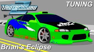NFS Underground 2: Tuning - Brian's Eclipse (FnF)