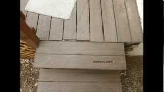 Dangerous Gaps And Quick Repair Tip Where Stairs Meet Deck - Building Safety
