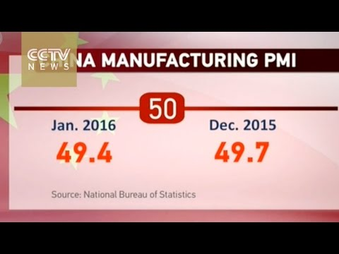 China manufacturing PMI hit lowest since 2012