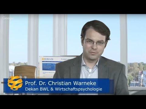 Psychologie Fernstudium An Der Euro-FH - Interview Mit Prof. Warneke