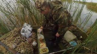 Охота на утку с чучелами и духовым манком. Сезон 2017