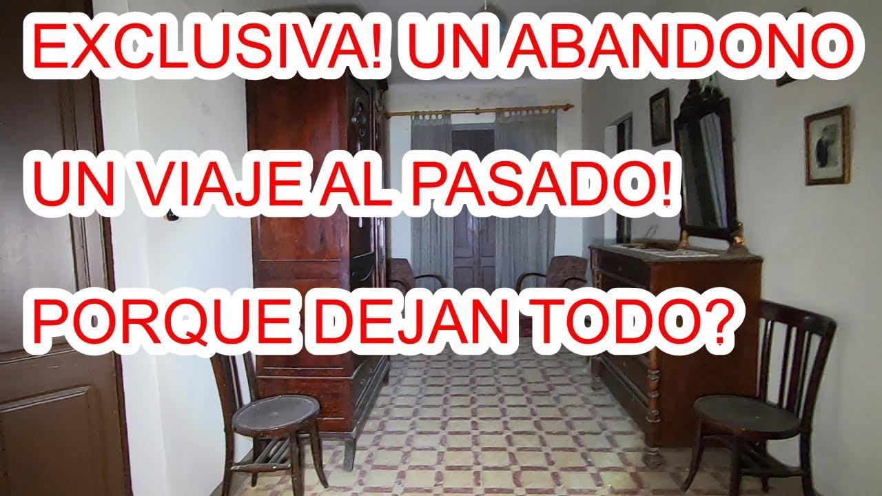 EXCLUSIVA! QUIERES VOLVER AL PASADO? MIRAD!  URBEX WOMAN