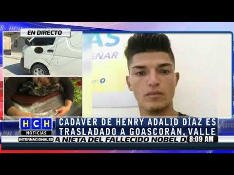 En Valle será sepultado Henry Adalid Díaz (traslado)