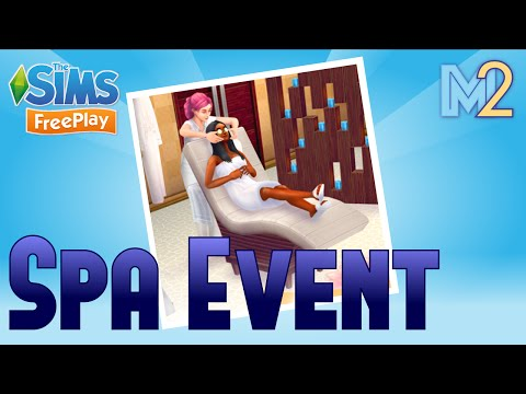 Sims FreePlay - Spa Event (Tutorial & Walkthrough)